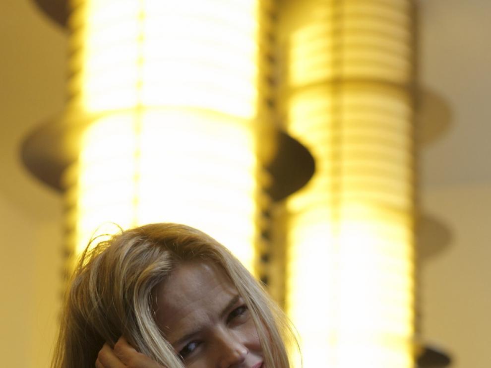 Christina Rosenvnge, fotografiada en Zaragoza.