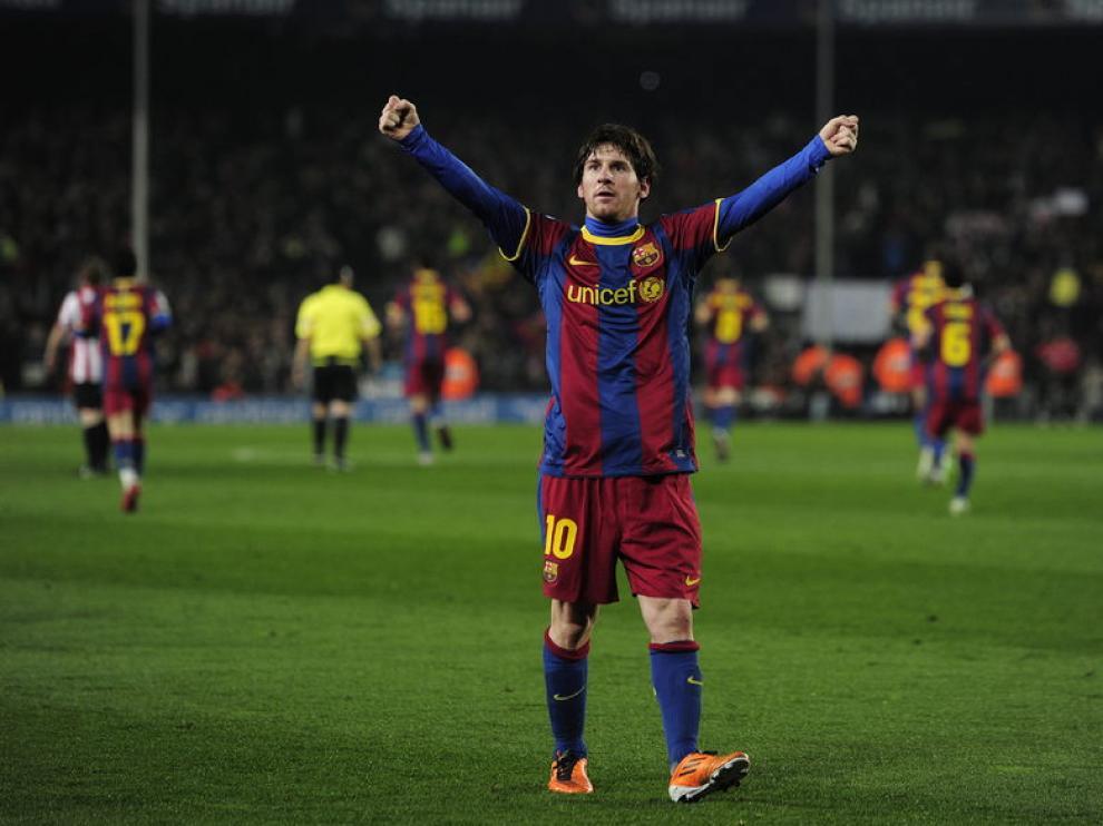 Messi logra su tanto número 25