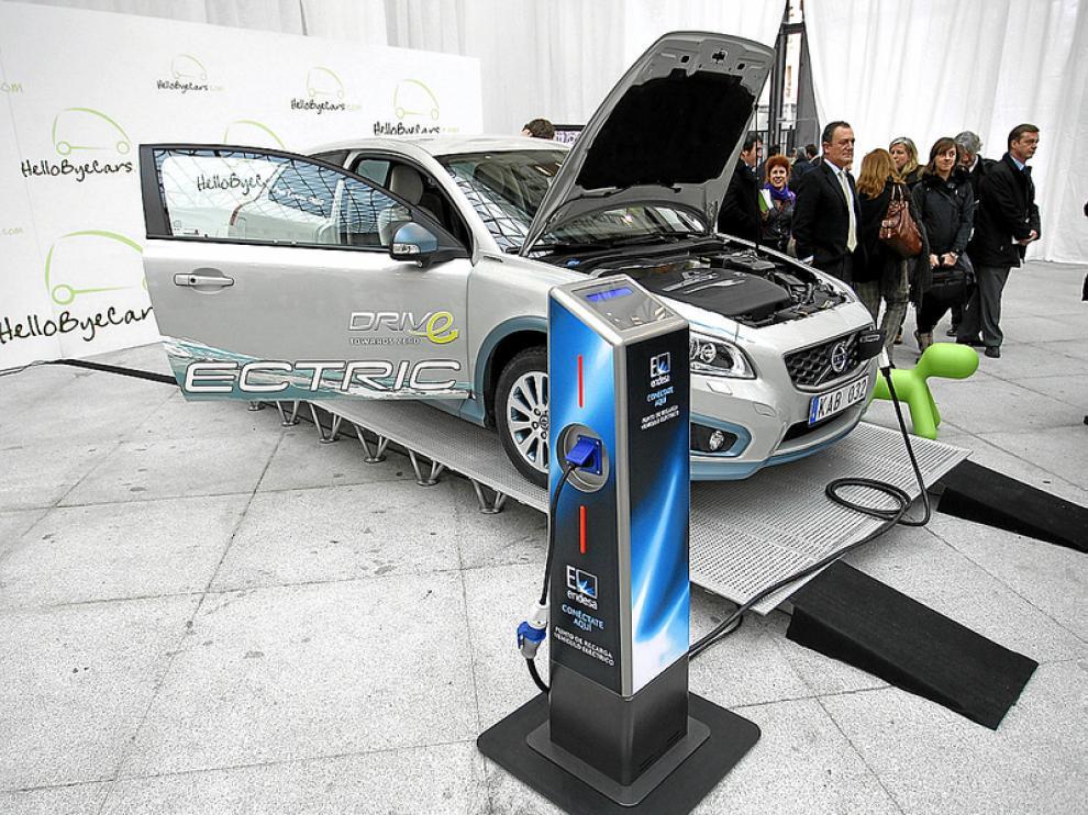 El Volvo eléctrico será uno de los coches del programa.