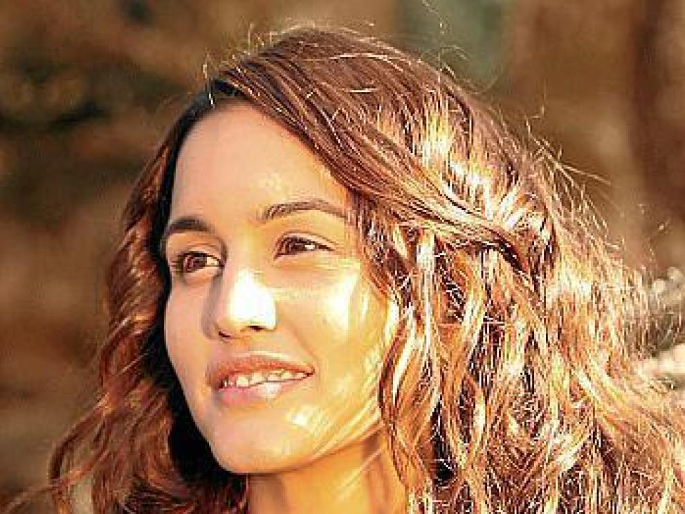 Megan Montaner, convertida en Pepa Aguirre en la serie de Antena 3.