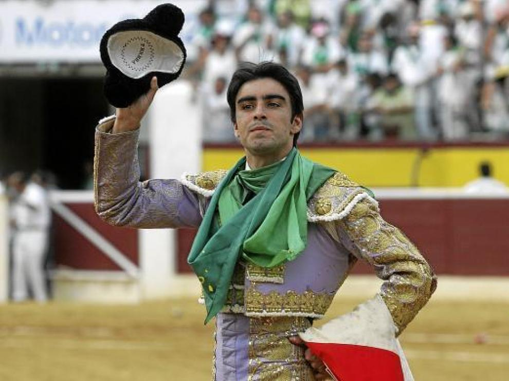 Miguel Ángel Perera salió por la puerta grande el día 10 de agosto tras cortar tres orejas.