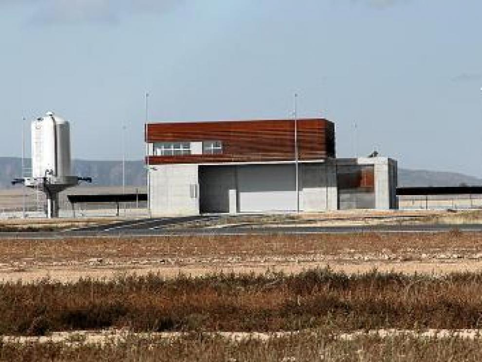 Aeródromo en Caudé