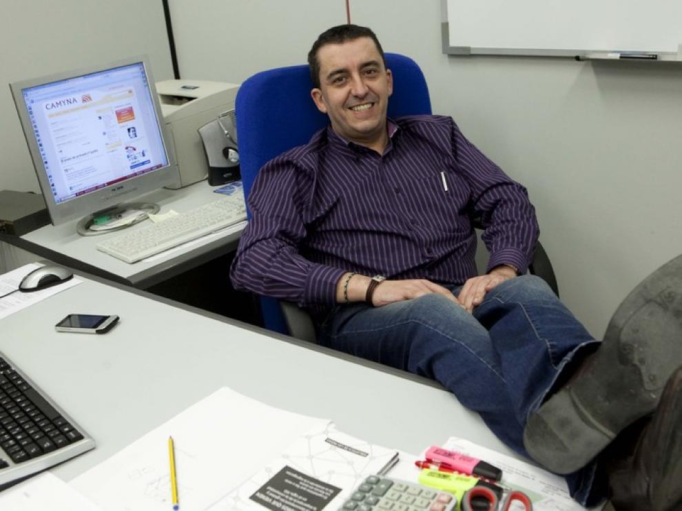 Del Molino impartió un seminario en Ibercaja Zentrum sobre 'Redes sociales y su aprovechamiento en la empresa'