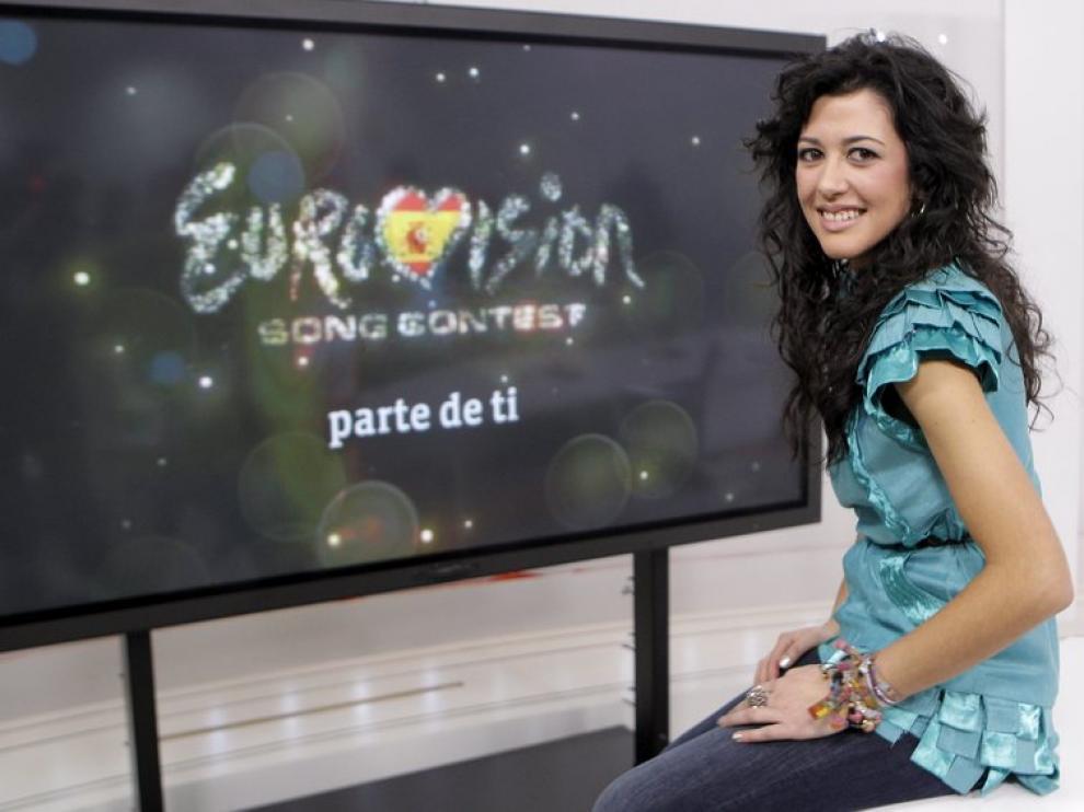Lucía Pérez, represente española en Eurovisión 2011
