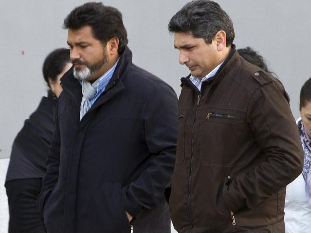 Juan José Cortés llega a la quinta jornada del juicio por el asesinato de su hija.