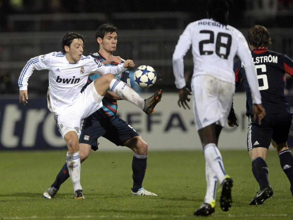El Real Madrid no ha vencido nunca en Lyon