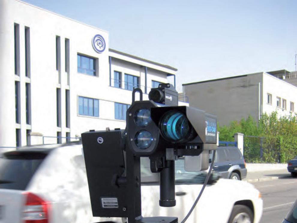 Un radar ligero para multar en las calles