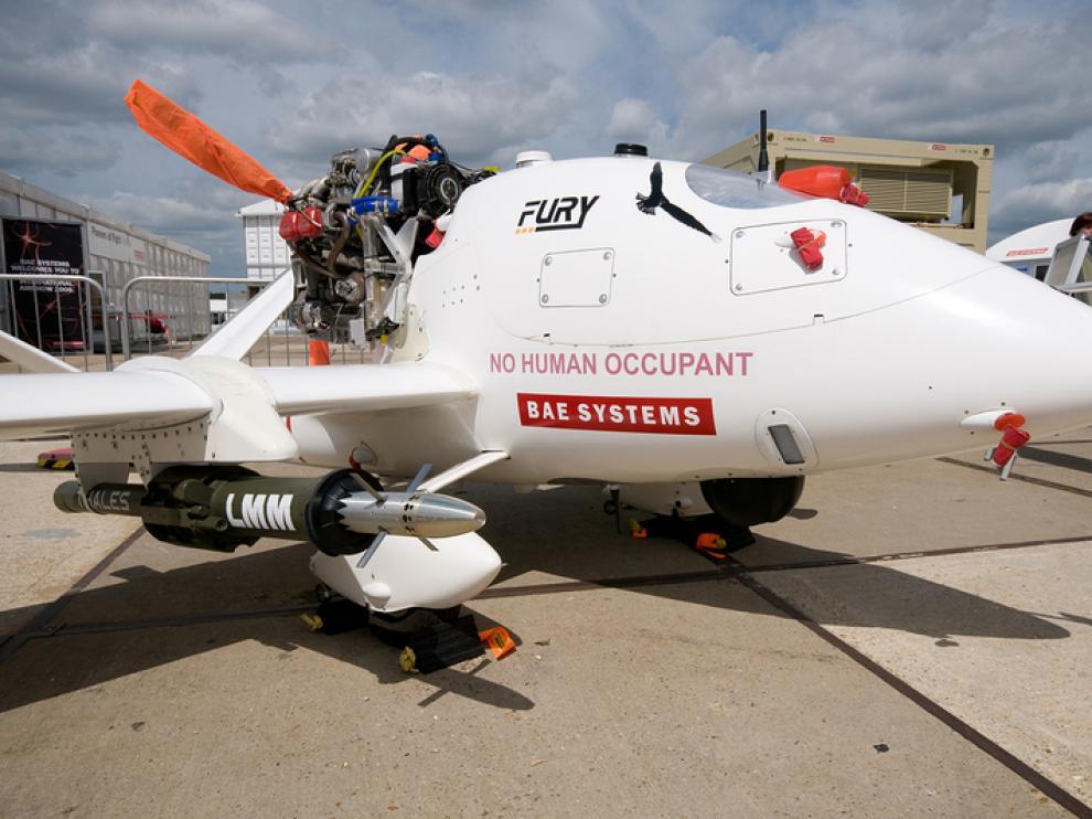 El enorme Global Hawk se utiliza en operaciones militares, labores científicas y ayuda humanitaria