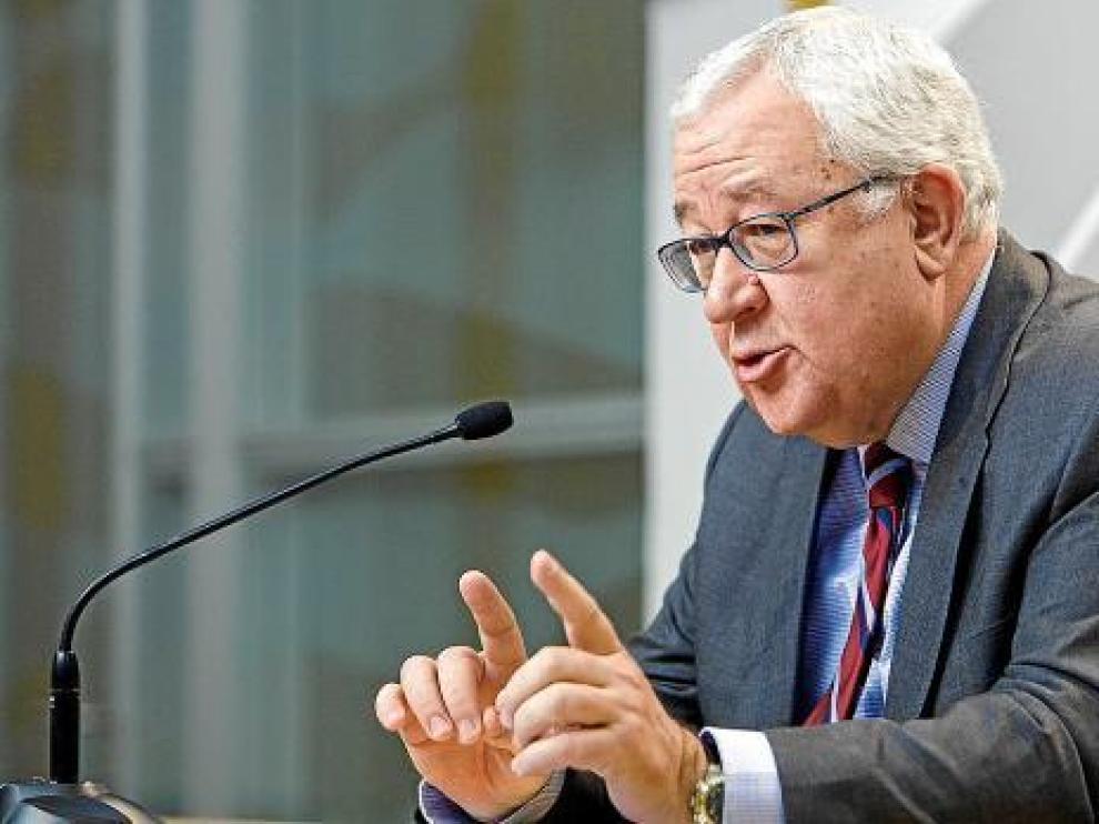 El vicepresidente del Gobierno de Aragón, José Ángel Biel.