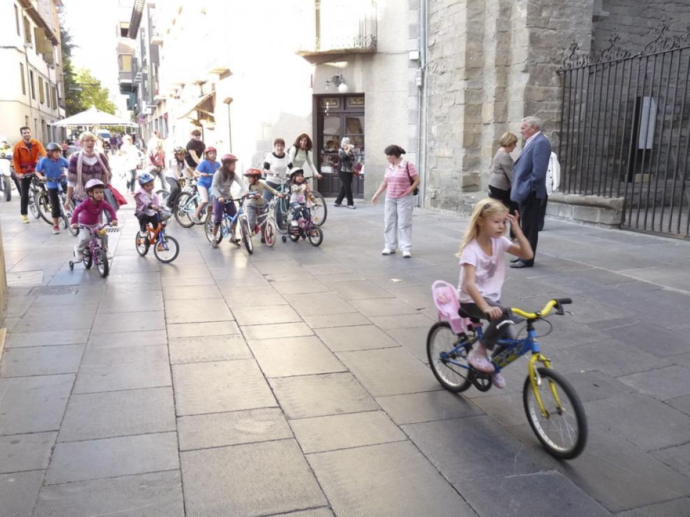 Actividades de la semana de la movilidad en Jaca