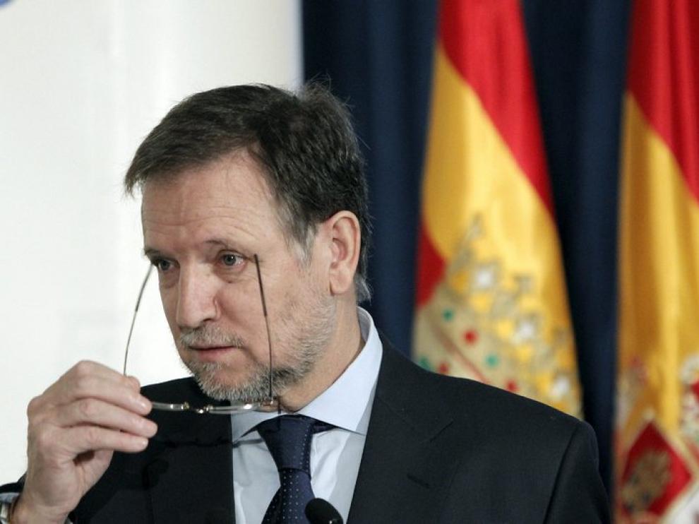 El secretario de Organización del PSOE y presidente de Aragón, Marcelino Iglesias