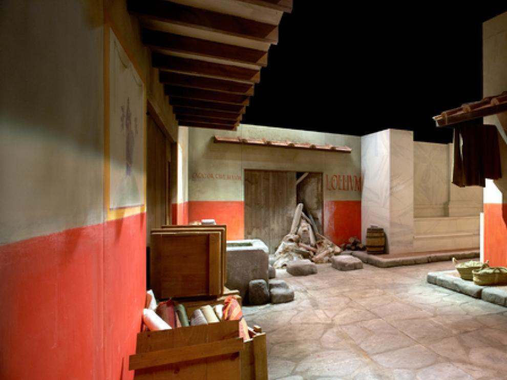 Imagen de la exposición 'Romanorum Vitae'