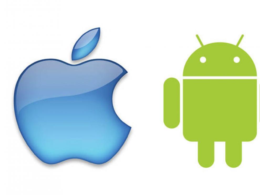 Los teléfonos Android y el iPhone dominan el mercado de 'smarthphones'