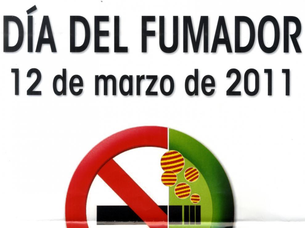 Cartel del Día del Fumador.