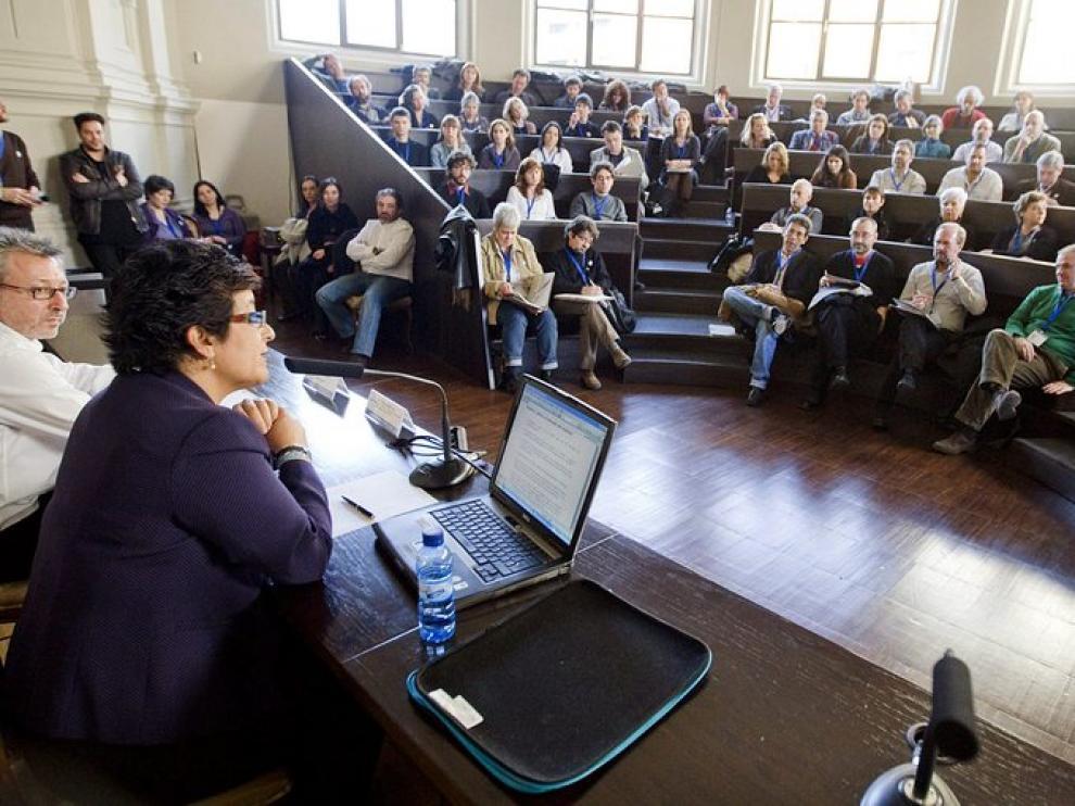 La directora de la Feria Internacional del Libro de Guadalajara (México) inaugura el encuentro