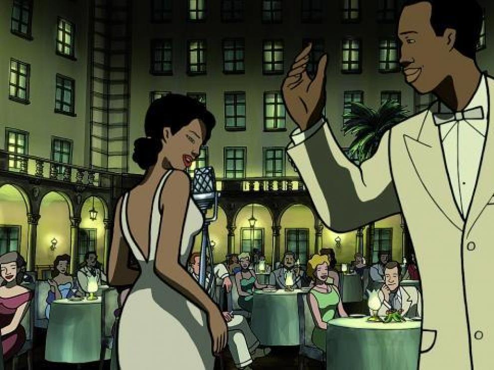 Fotograma de 'Chico y Rita', cinta de animación firmada por Fernando Trueba y Javier Mariscal.