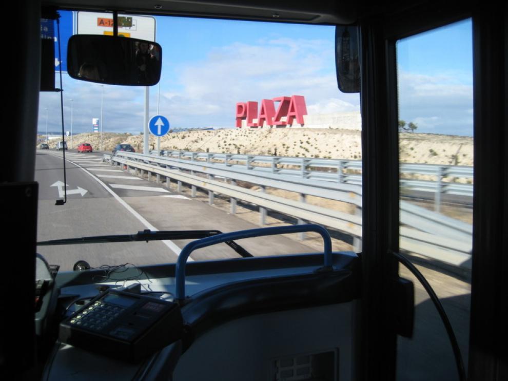 Sube el uso del transporte que une Zaragoza con su entorno y ...