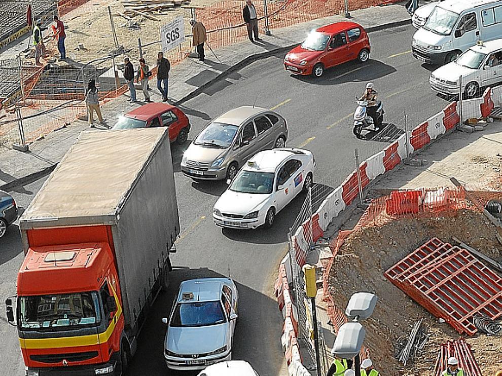 Los trabajos afectan la seguridad del tráfico