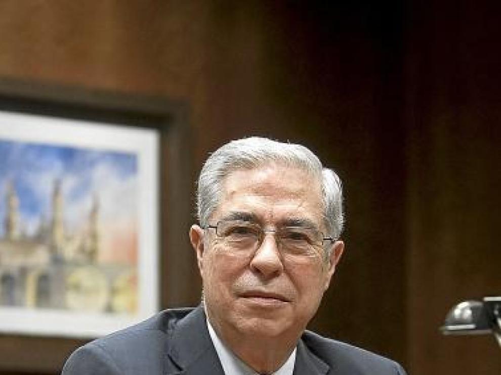 Hilario Martínez, director de El Corte Inglés en Aragón.