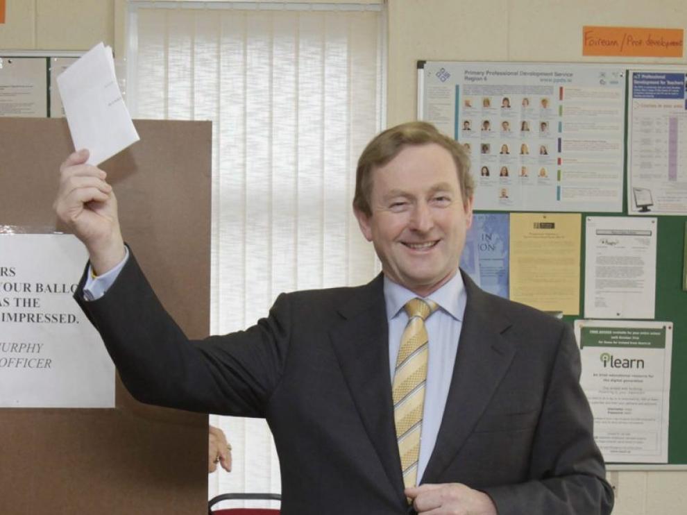 Enda Kenny, primer ministro irlandés.