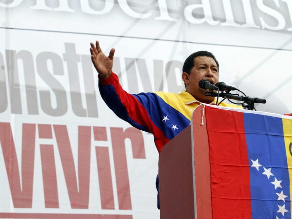 El expresidente de Venezuela, Hugo Chávez