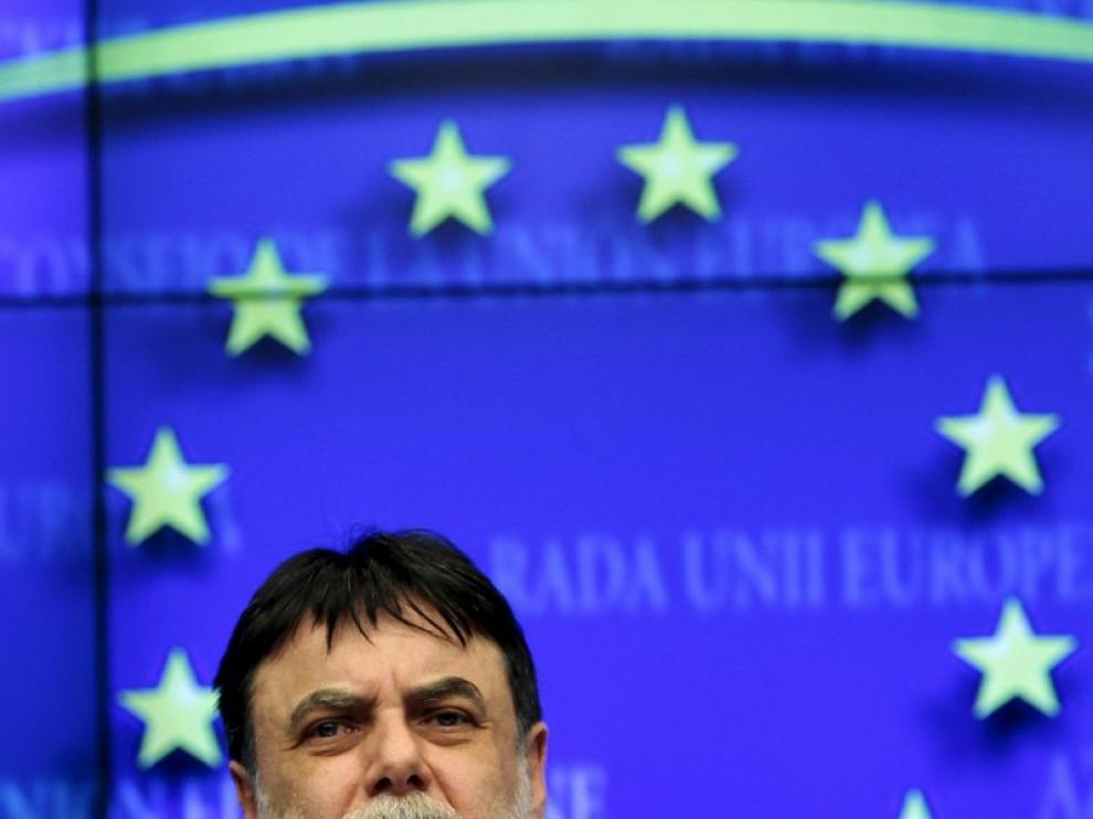 El primer ministro húngado de energía Tamas Fellegi