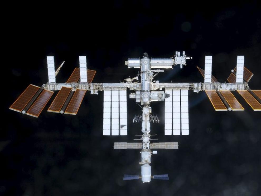 La Estación Espacial Internacional fotografiada por uno de los astronautas.