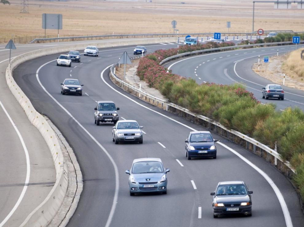 Autovía de Huesca, a la altura de Villanueva de Gállego