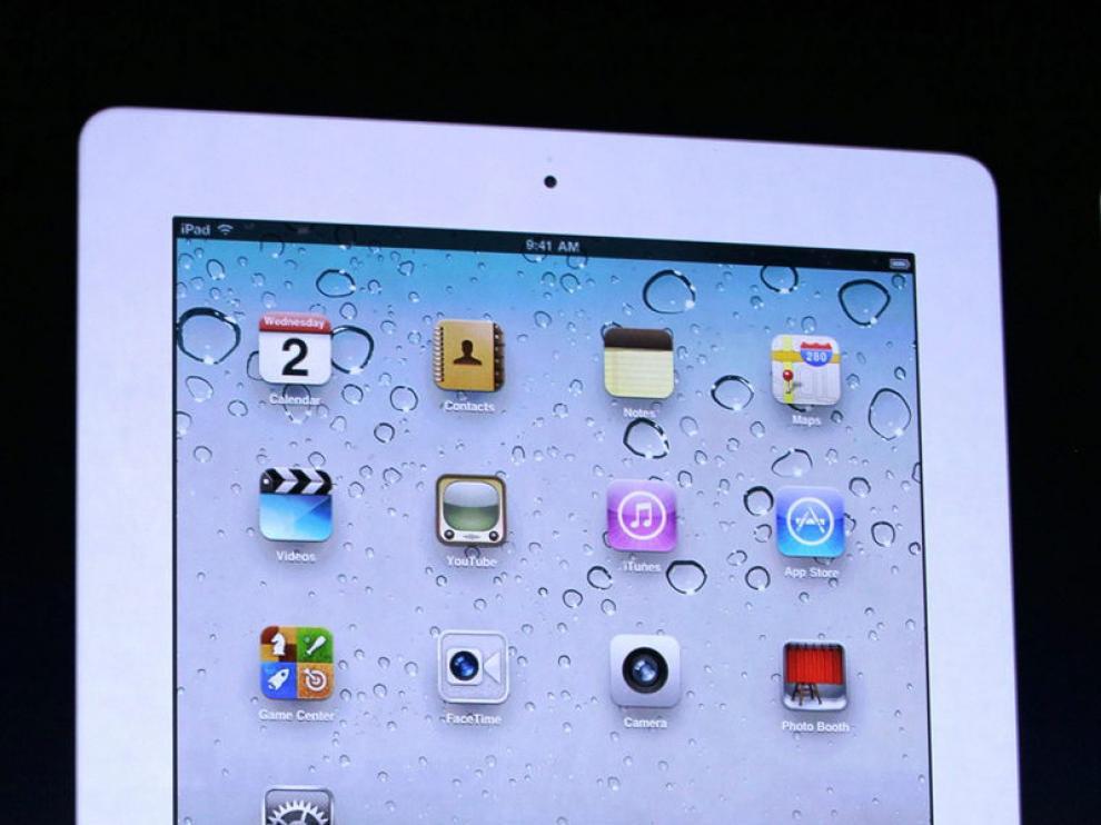 Steve Jobs presentó el nuevo iPad2 de Apple