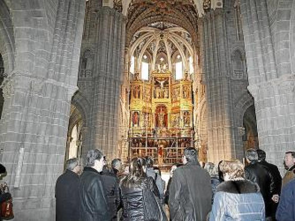 La DGA fuerza el estreno de la catedral de Tarazona dos días antes de que la ley lo prohíba