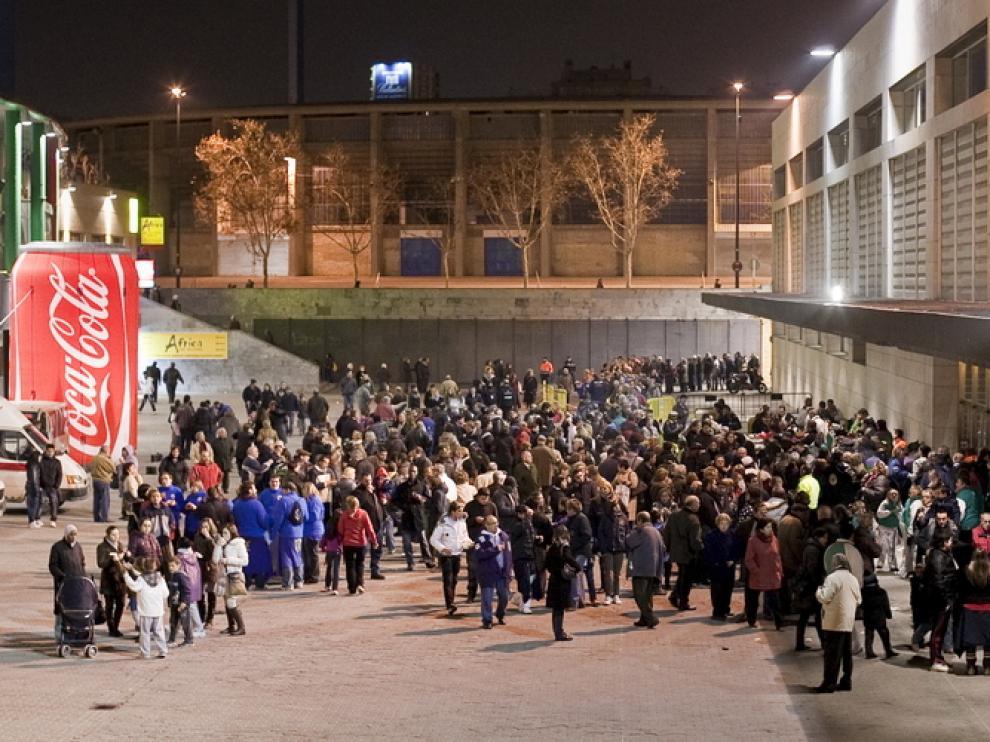Miles de ciudadanos se dieron cita en junto al Auditorio