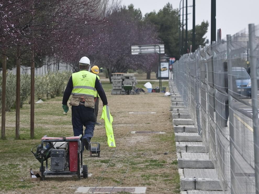Los trabajos en la zona han despertado las críticas de los vecinos