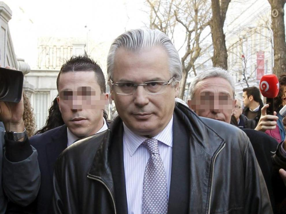 El juez Baltasar Garzón