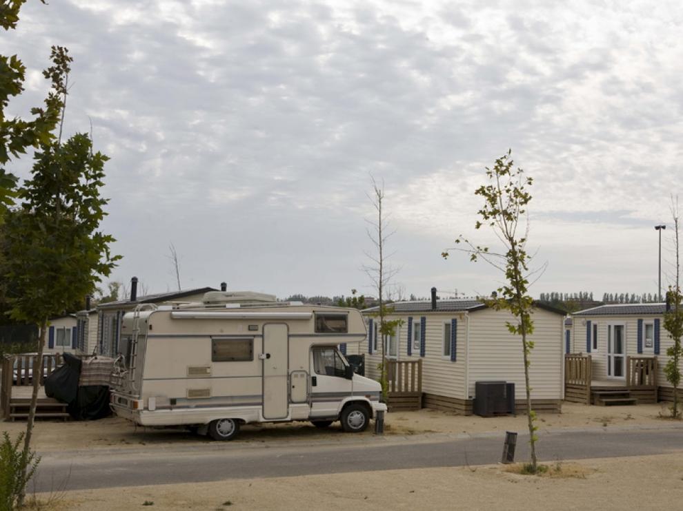 Imagen del Camping Ciudad de Zaragoza