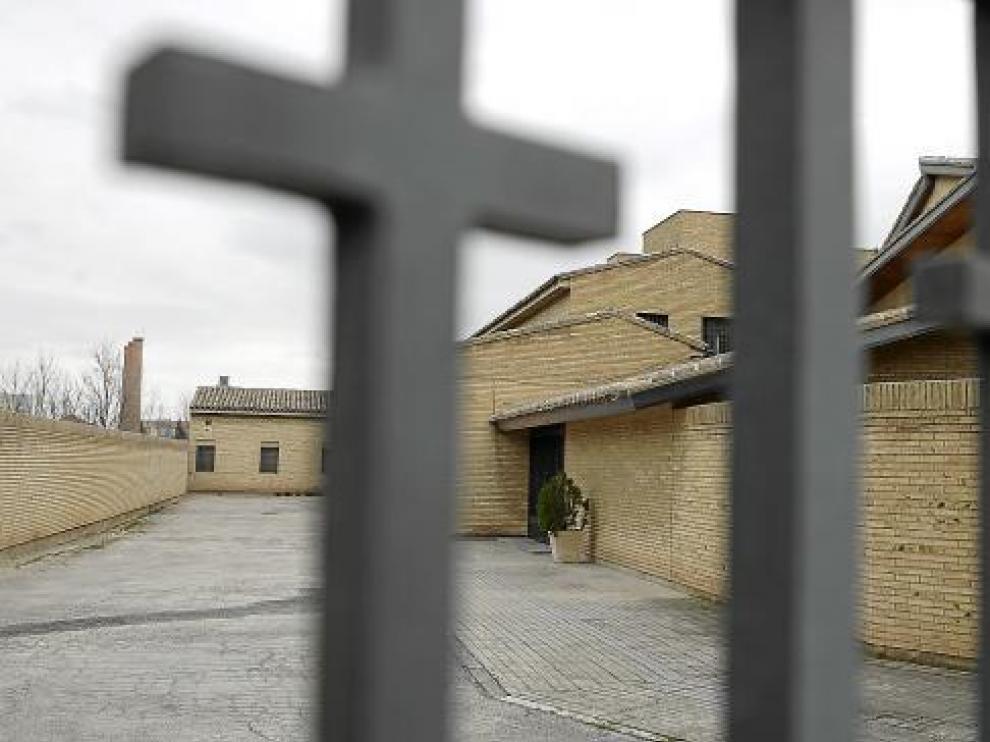 Entrada principal al monasterio de Santa Lucía, situado en el barrio de Casablanca.
