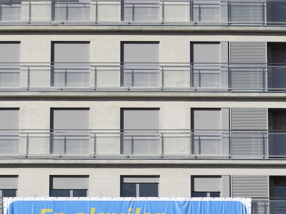 Promoción de viviendas en alquiler en Zaragoza