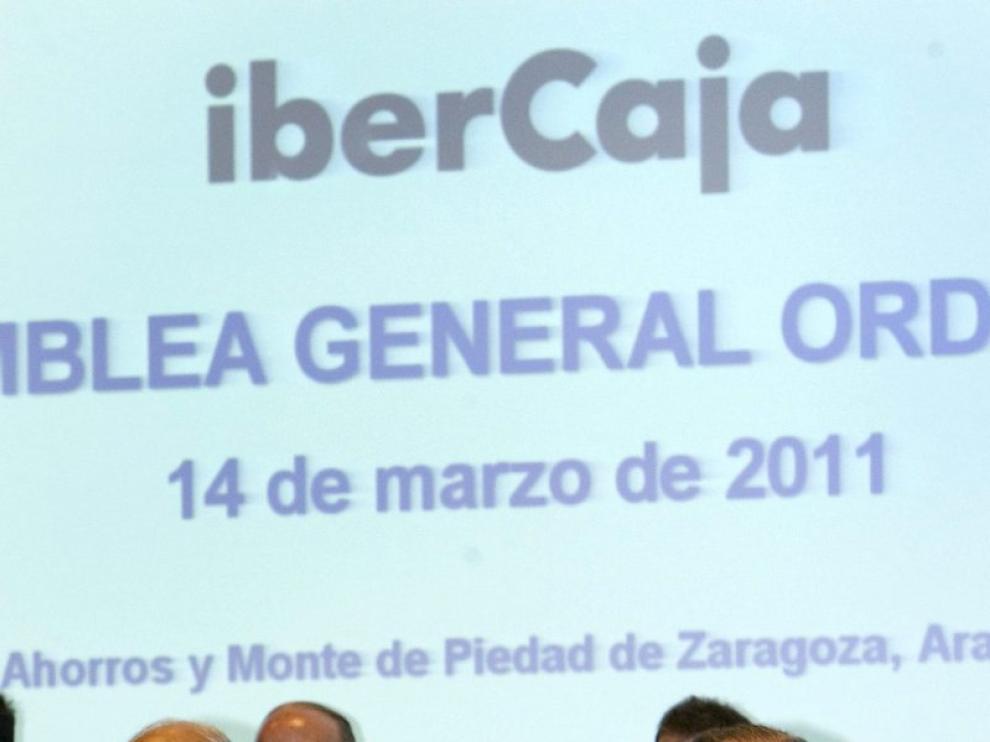 El presidente de Ibercaja, Amado Franco,