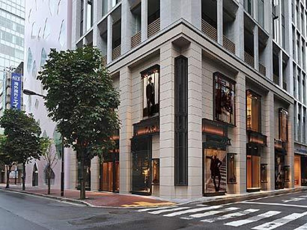 Tienda de Zara en Tokio