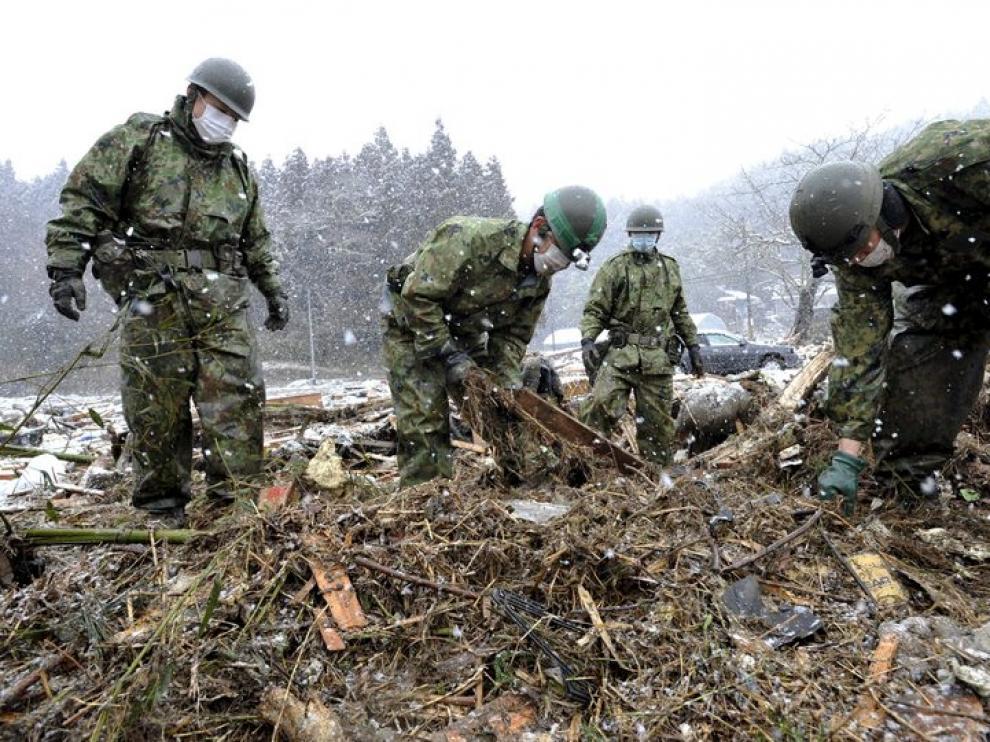 Foto correspondiente a la tragedia que asoló Japón en marzo de este año.