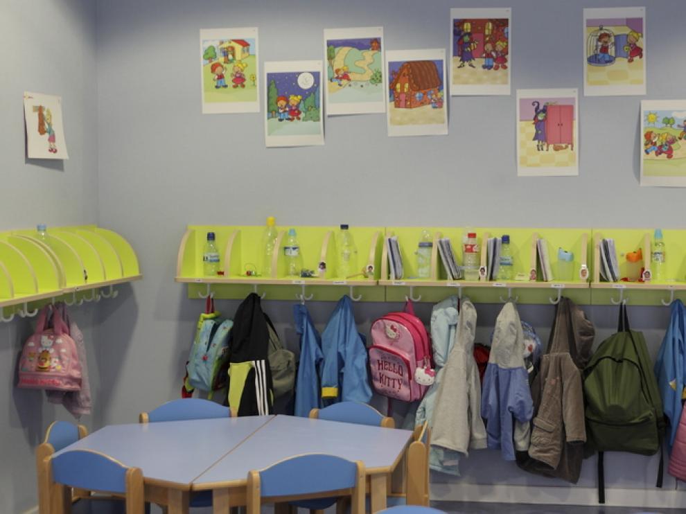 Imagen de una clase de una escuela infantil.