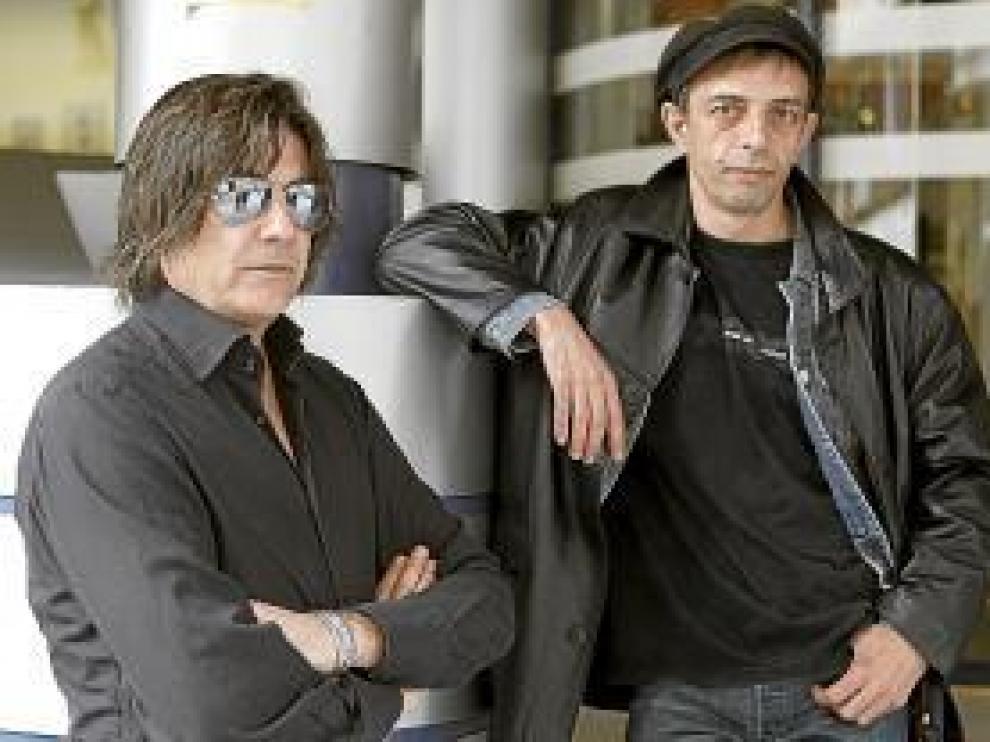 Javier Andreu y Tony Marmota, de La Frontera.