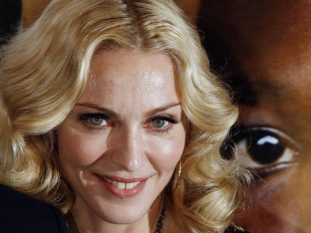 Madonna, en una foto de archivo