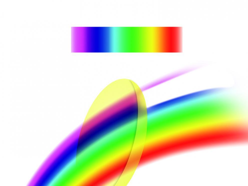 El nuevo filtro óptico absorbe la luz azul y violeta, lo que evita el desgaste de la retina
