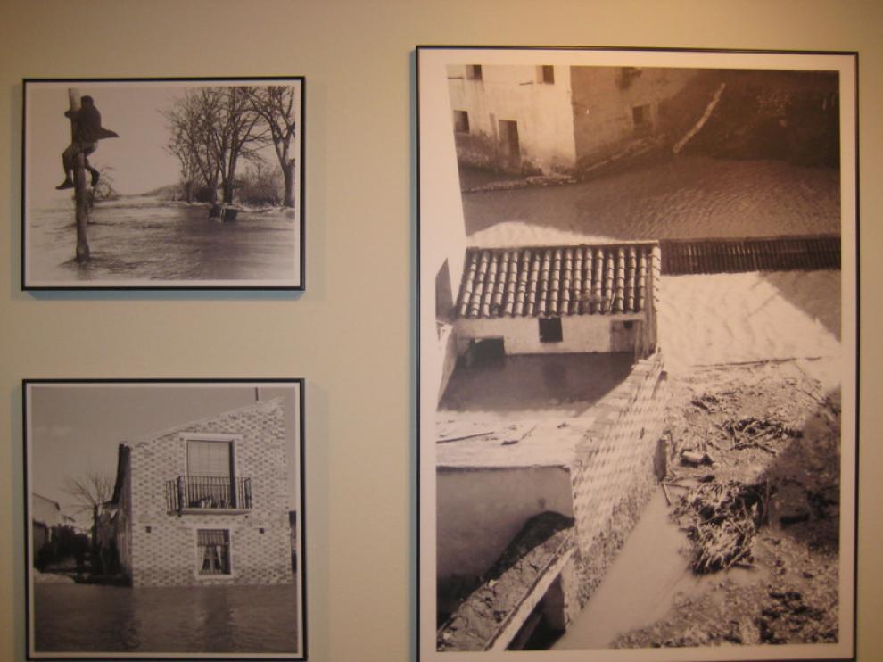 'La riada del  siglo. 50 años del gran desbordamiento del Ebro en Pradilla'
