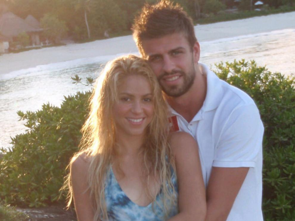 Imagen de Shakira y Piqué