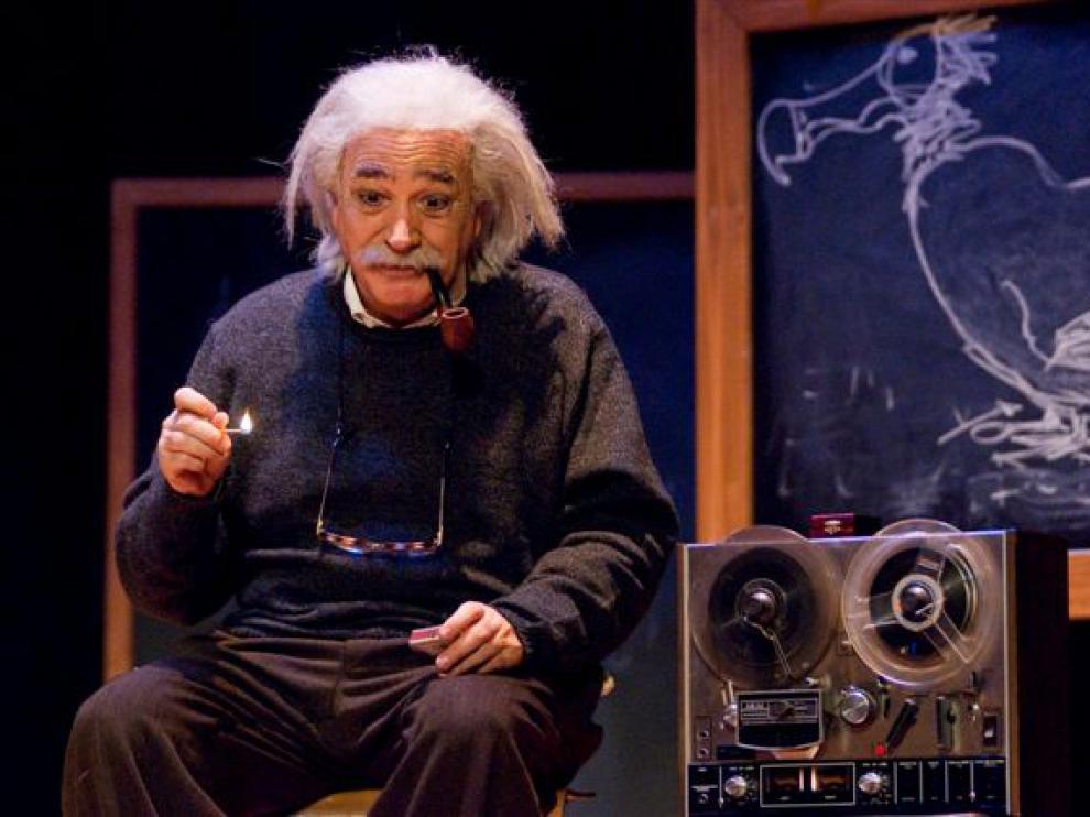 'Einstein y el dodo', un monólogo de Ricardo Joven que él mismo representa