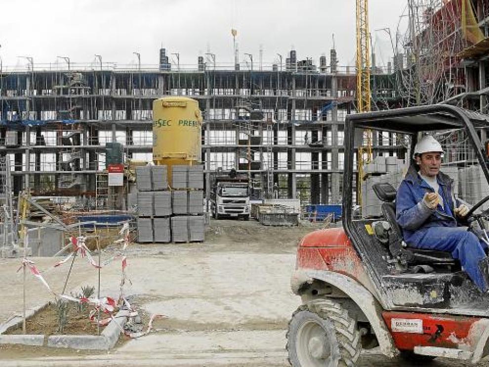 Por primera vez desde 1992, se iniciaron más VPO que pisos libres. En la foto, Parque Venecia.