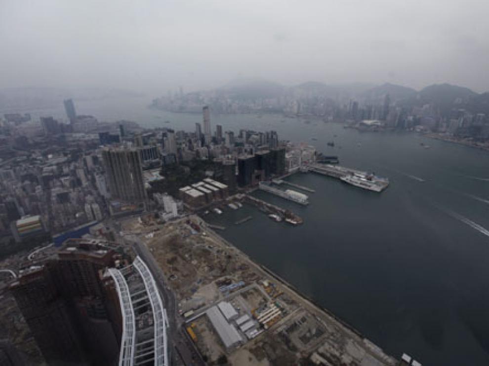 Contaminación ambiental en Hong Kong