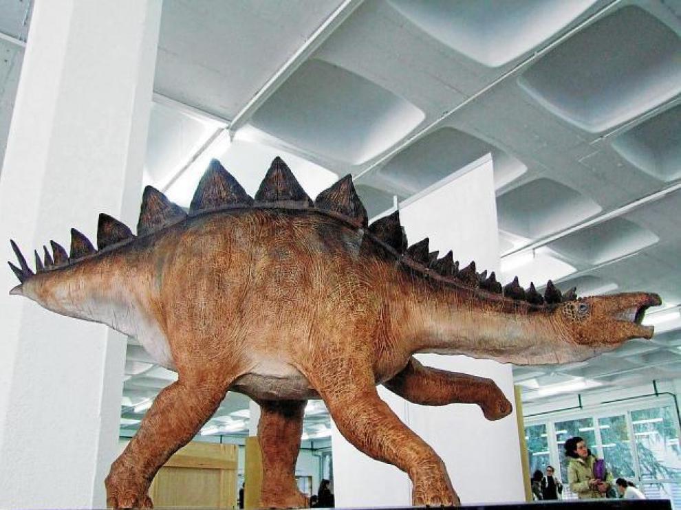 Huellas de un nuevo dinosaurio en Teruel