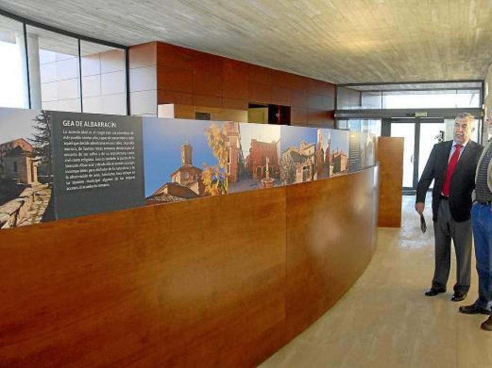 El panel de entrada muestra un recorrido por los tres municipios por donde pasa el acueducto.